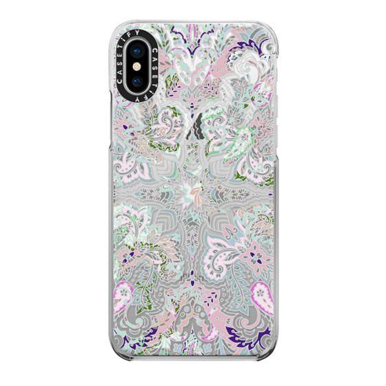 iPhone X Cases - Pastel lace