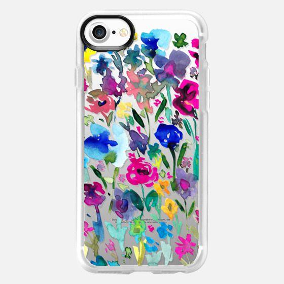 Watercolor Flower 8 - Snap Case