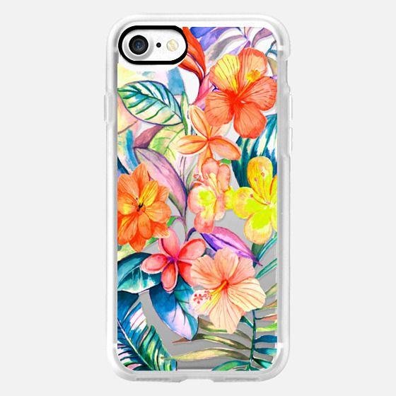 Bright tropical Jungle - Snap Case