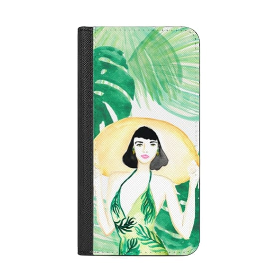 iPhone X Cases - Beach Babe Tropical Watercolor