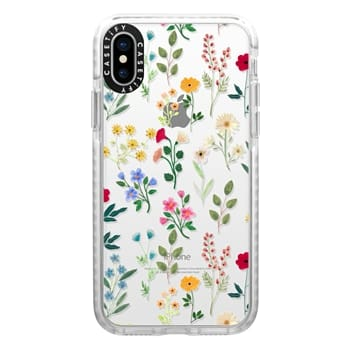 Impact iPhone X Case - Spring Botanicals 2