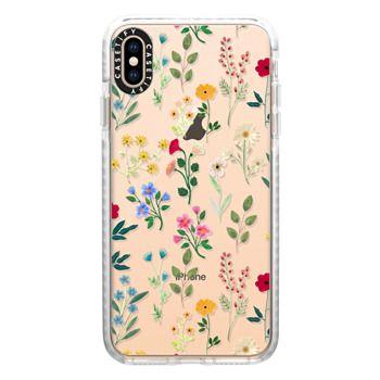 Impact iPhone Xs Max Case - Spring Botanicals 2