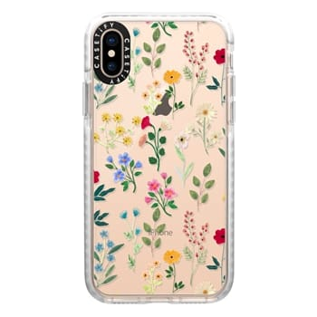 Impact iPhone Xs Case - Spring Botanicals 2