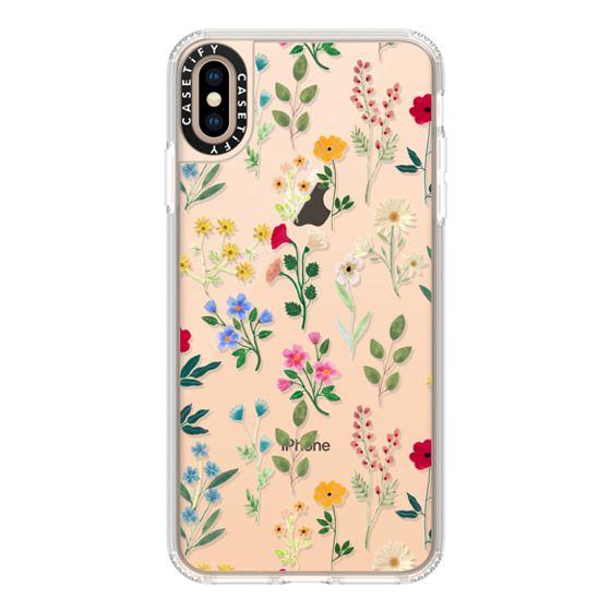 iPhone XS Max Cases - Spring Botanicals 2