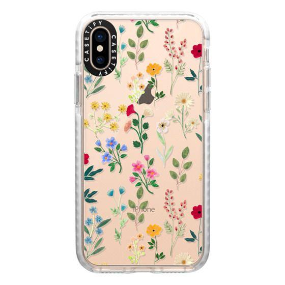 iPhone XS Cases - Spring Botanicals 2
