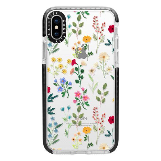 iPhone X Cases - Spring Botanicals 2
