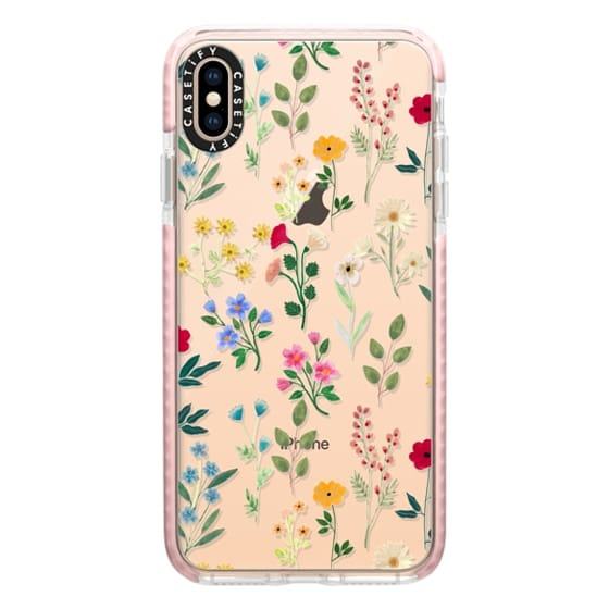 iPhone XS Max Cases - Spring Botanicals 2