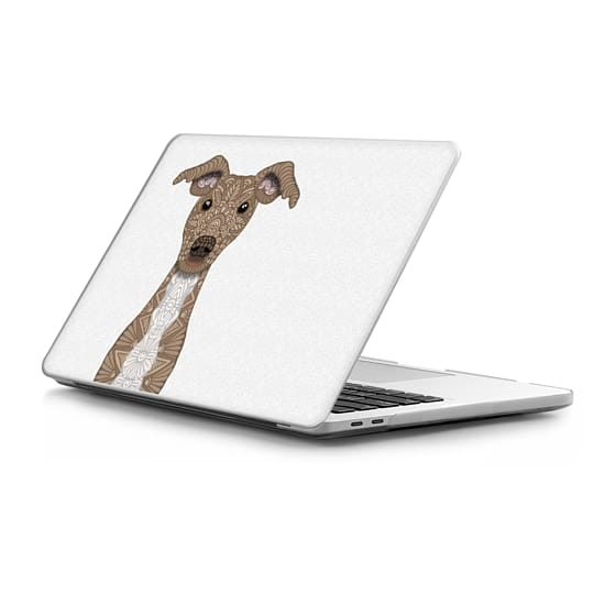 MacBook Pro Touchbar 15 Sleeves - Fawn and White Whippet