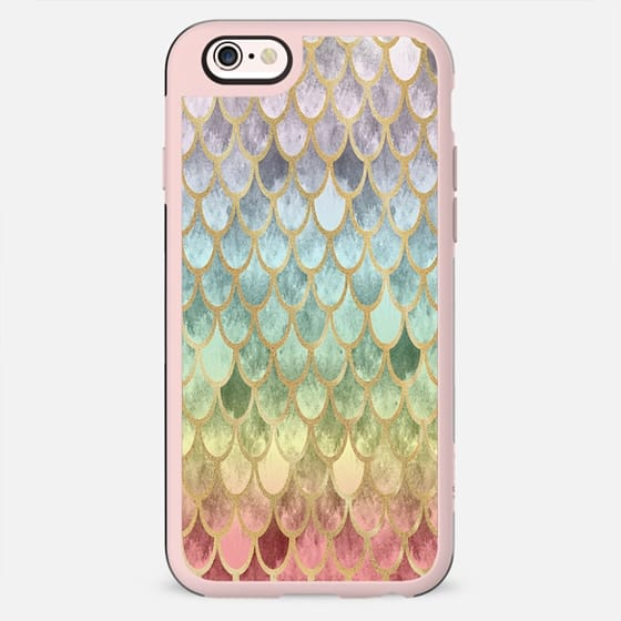 Rainbow Mermaid Scales - New Standard Case