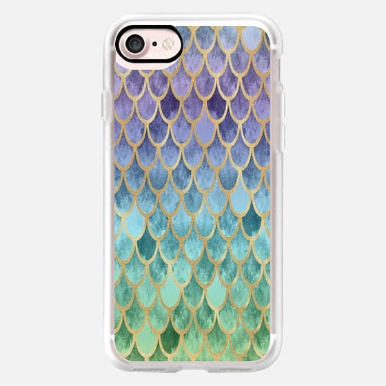 Purple Mermaid Scales -