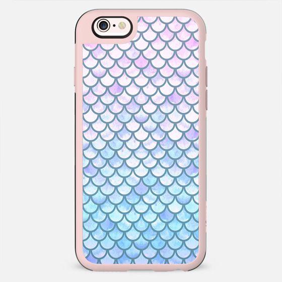Lavender Mermaid Scales - New Standard Case