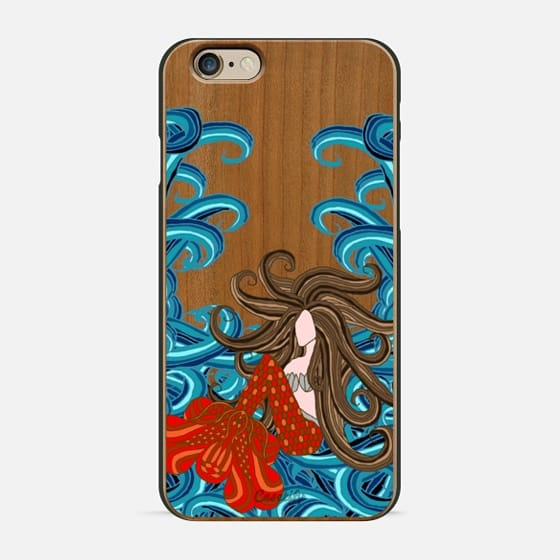 Mermaid 5 - Wood Case