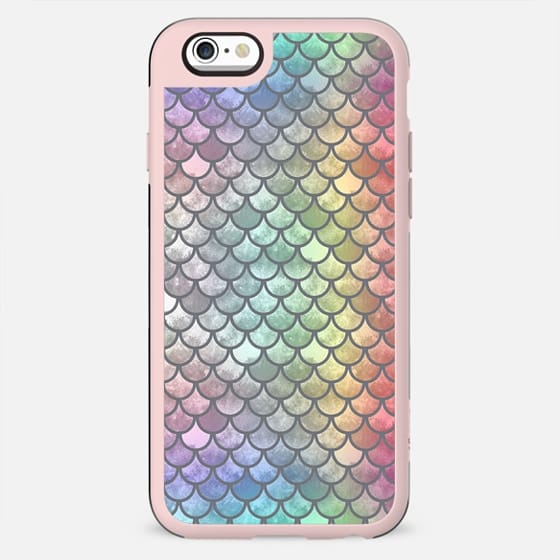 Pretty Mermaid Scales 45 - New Standard Case