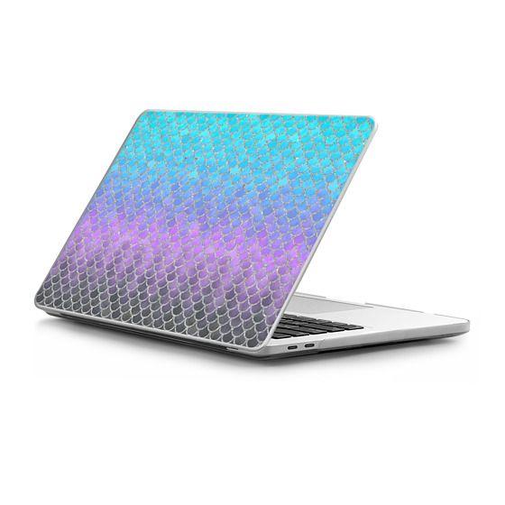 MacBook Pro Touchbar 13 Sleeves - Modern Mermaid Scales 01