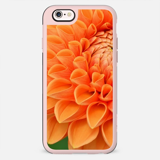 Orange Blooming - Classic Snap Case