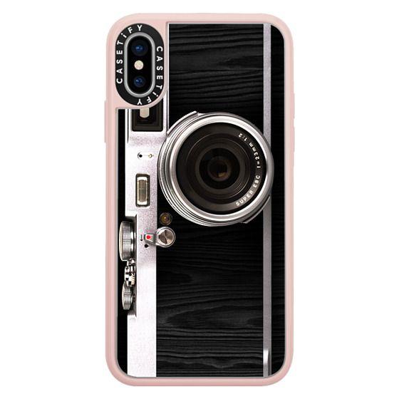 iPhone X Cases - Classic Camera 2.0