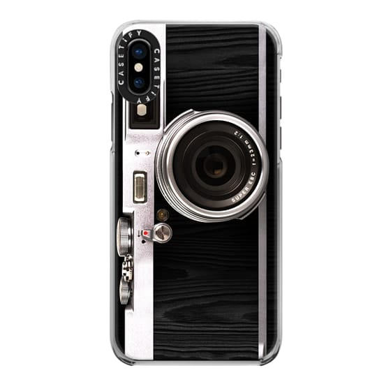 iPhone X Cases - Classic Camera 2.0