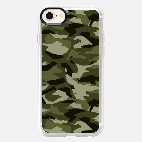 Geo-Camo (Army) - Snap Case
