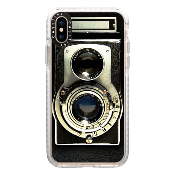iPhone XS Cases - Vintage Camera