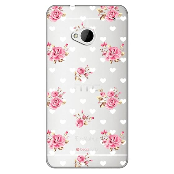 Htc One Cases - Flowers with love