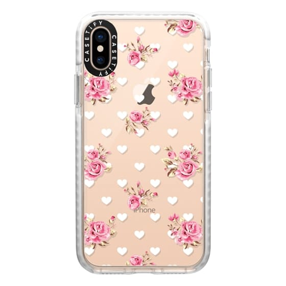 iPhone XS Cases - Flowers with love