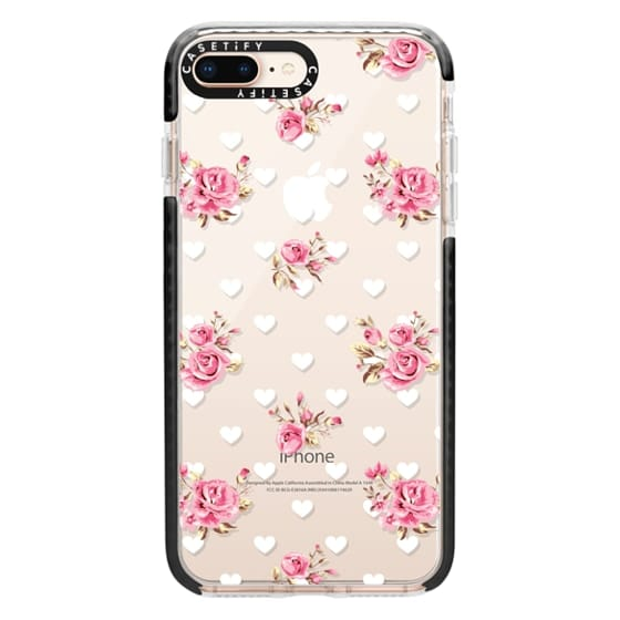 iPhone 8 Plus Cases - Flowers with love