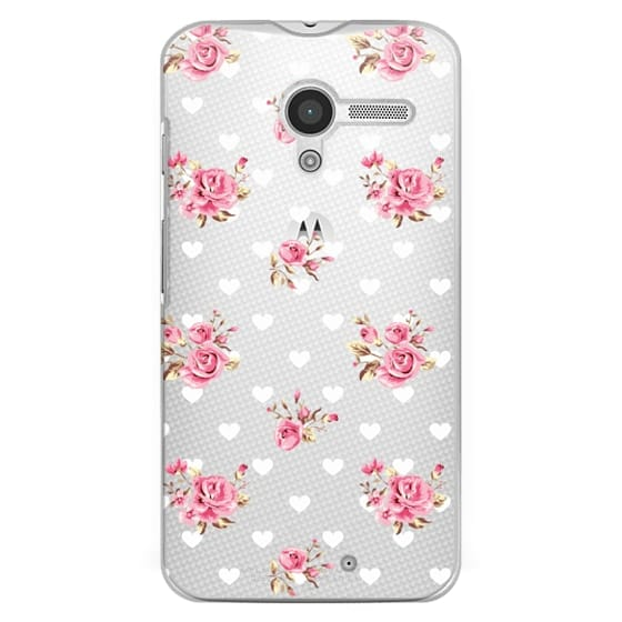 Moto X Cases - Flowers with love