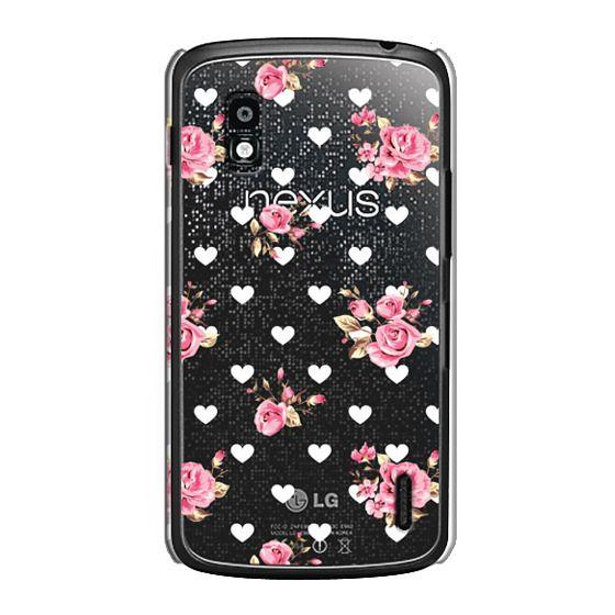 Nexus 4 Cases - Flowers with love