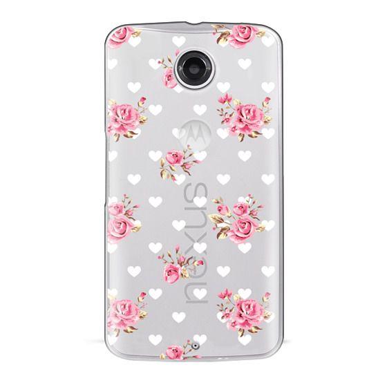 Nexus 6 Cases - Flowers with love