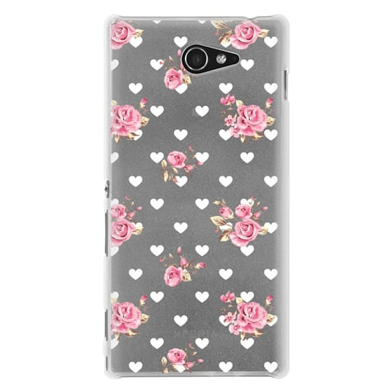 Sony M2 Cases - Flowers with love