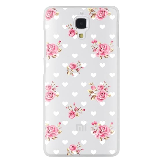 Xiaomi 4 Cases - Flowers with love