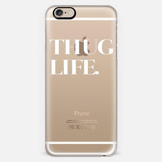 Thug Life Transparent Typography -