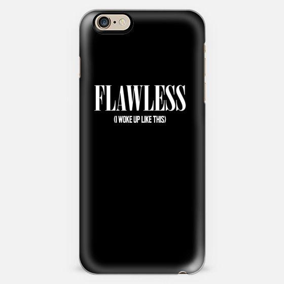 Flawless Black & White (I woke up like this) -