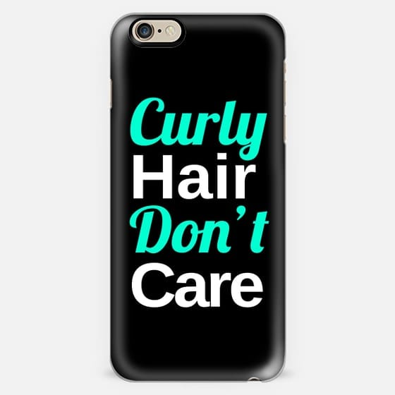 Curly Hair, Don't Care -