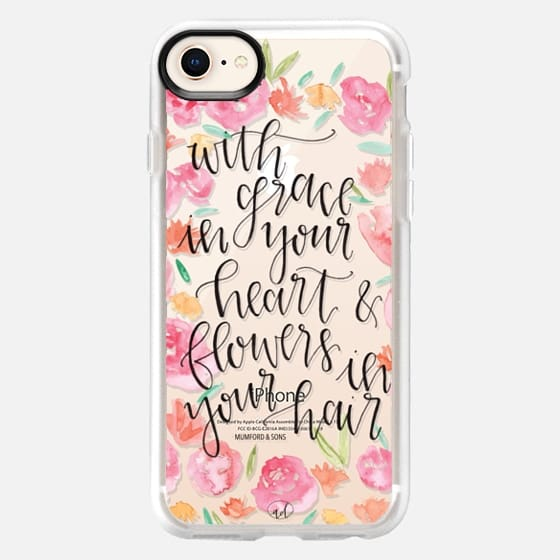 Grace in your Heart, Flowers in your Hair - Mumford & Sons - Snap Case