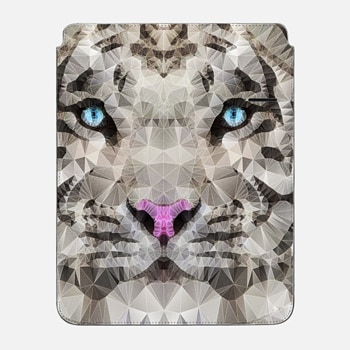 "iPad Pro 12.9"" Sleeve white tiger"