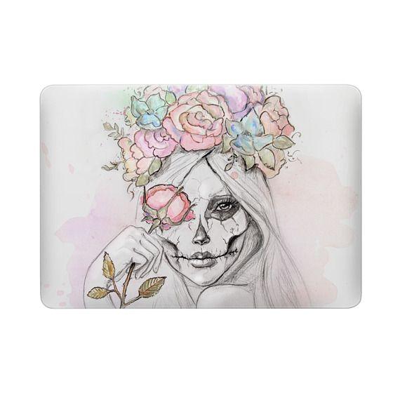 Boho Queen, watercolour girl