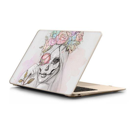 MacBook 12 Sleeves - Boho Queen, watercolour girl