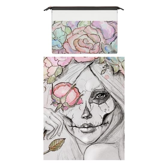 MacBook Pro 15 Sleeves - Boho Queen, watercolour girl