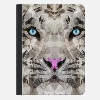 "iPad Pro 9.7"" Case white tiger"