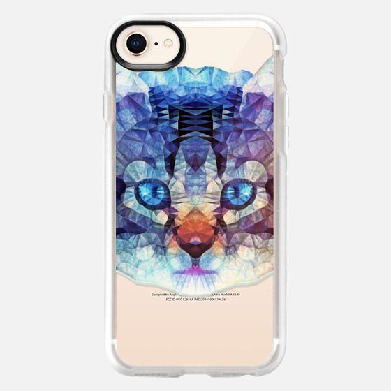 Abstract cute cat, kitten - Snap Case