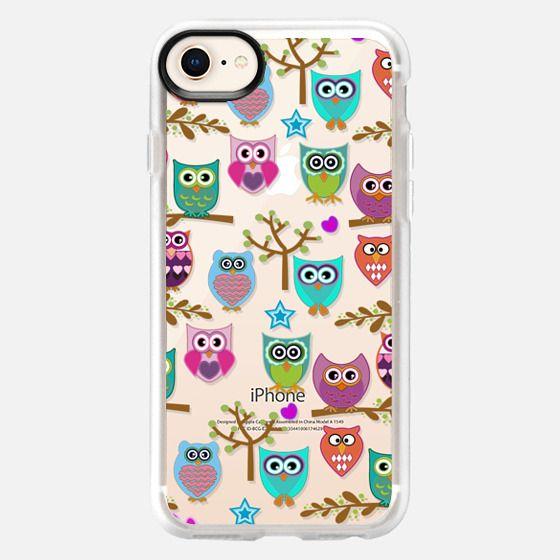Happy Owls - Snap Case