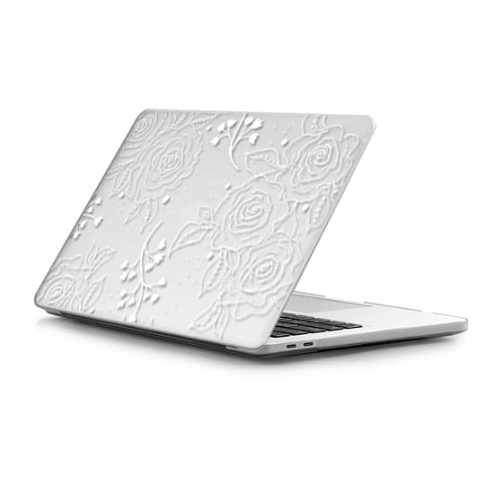MacBook Pro Touchbar 13 Sleeves - White Roses