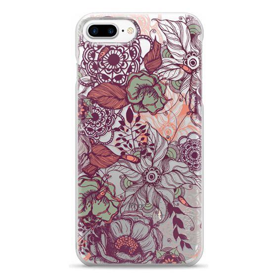 iPhone 7 Plus Cases - Vintage Floral
