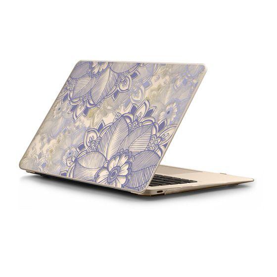 MacBook 12 Sleeves - Purple Floral