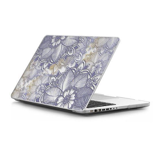 MacBook Pro 13 Sleeves - Purple Floral