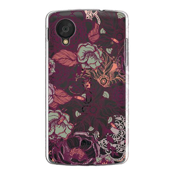 Nexus 5 Cases - Vintage Floral