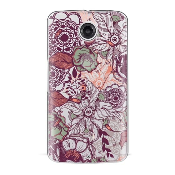 Nexus 6 Cases - Vintage Floral