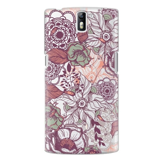 One Plus One Cases - Vintage Floral