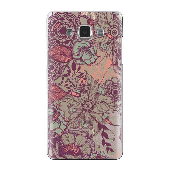 Samsung Galaxy A5 Cases - Vintage Floral
